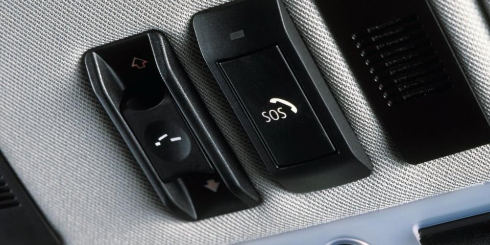 Az e-Call gyors segítség autóbaleset esetén
